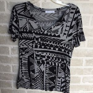 Chris & Carol small women's printed shirt